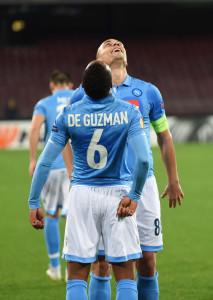 Napoli - Trabzonspor  - Calcio Europa League 2014/2015 -