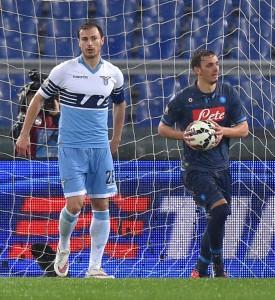 Soccer: Italy Cup; Lazio-Napoli