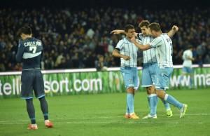 Napoli - Lazio 0-1 Calcio Coppa Italia  2014/2015 semifinale par