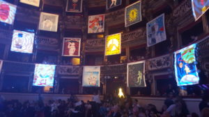 Teatro Bellini Quadri sugli Spalti