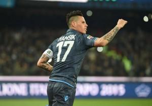 Napoli - Sassuolo Campionato di calcio serie A 2014-2015