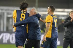 Hellas Verona vs Napoli Campionato calcio Serie A 2014-2015