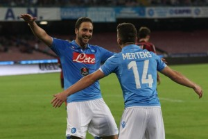 Soccer: serie A, Napoli-Milan