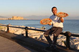 Foto Marco Cantile/LaPresse03-09-2013 Napoli, ItaliacronacaCampionato mondiale del pizzaiuoloNella foto: momenti della gara tra i pizzaiuoli