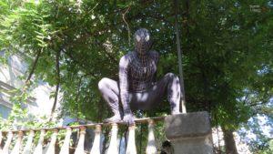 Uno Spierman nero a Villa Bruno?!? Ma si è Raffaele Kira Imparato!