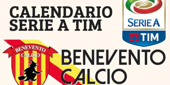 Calendario Benevento Calcio.Il Calendario Della Strega Si Parte Al Ferraris Di Genova