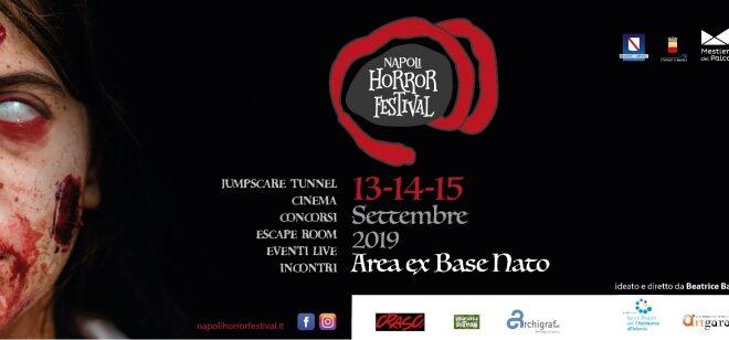 Napoli Horror Festival – dal 13 al 15 settembre all'Ex Base
