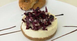 Cheesecake Radicchio e Gorgonzola